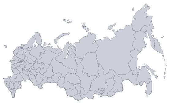 Russian Government Publishes Interactive Investment Map - Russian map