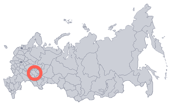Naberezhnye Chelny EastWest Digital News - Naberezhnye chelny map