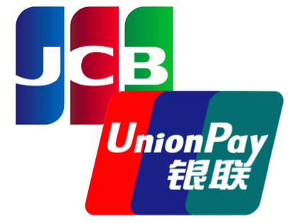 JCB+UnionPay